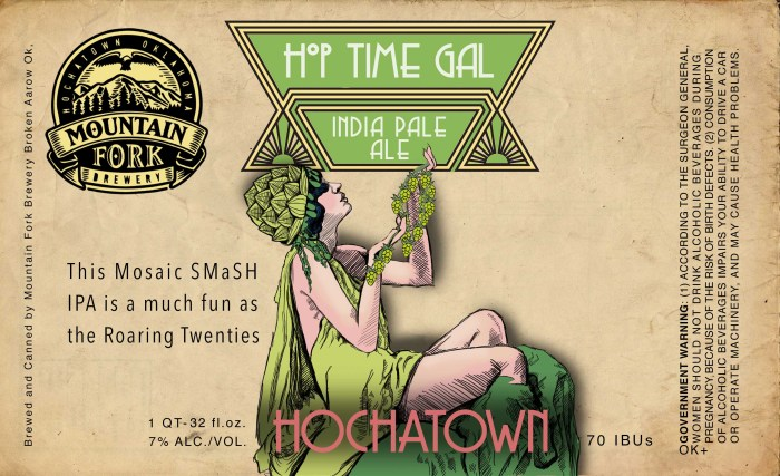 Mountain Fork Hop Time Gal IPA