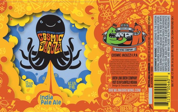 Brew Link Cosmic Jacuzzi IPA
