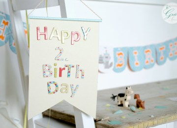 Geburtstagswimpel