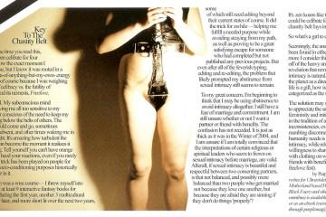 Keys To The Chastity Belt