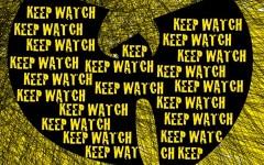 "Wu-Tang Clan's ""Keep Watch"" cover art"
