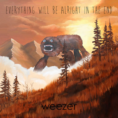 "Weezer's ""Everything Will Be Alright In The End"" cover art"