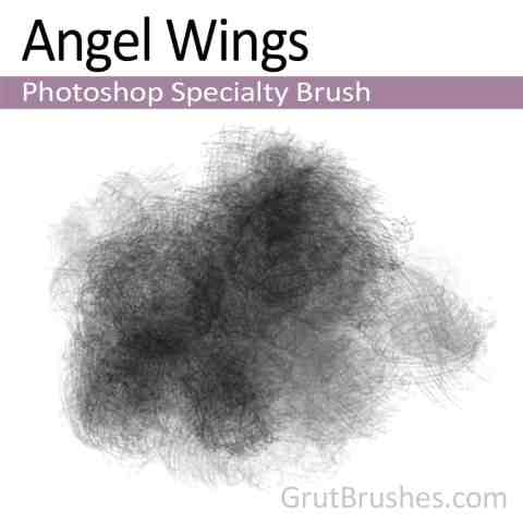 Photoshop Specialty Brush 'Angel Wings'