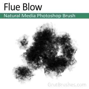 Photoshop Natural Media Brush 'Flue Blow'
