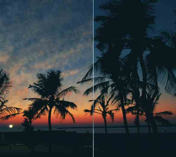 Photoshop-cloud-painting-Sunset