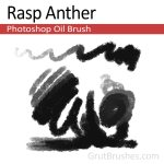 'Rasp Anther' Photoshop Oil Brush for digital artists