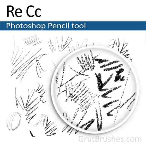 'Re Cc' Photoshop Pencil for digital artists