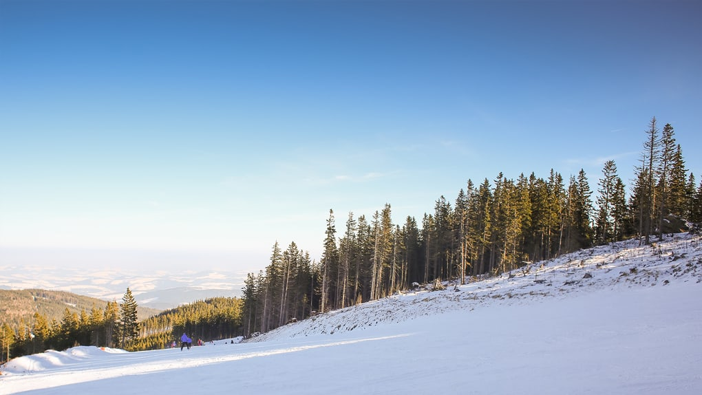 Before-Ski Slope