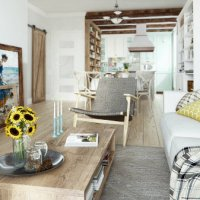 The small and beauty apartment from Moscow
