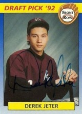 1992-Front-Row-Draft-Picks-Derek-Jeter-Autograph-214x300
