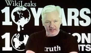 Julian Assange, líder y fundador de WikiLeaks