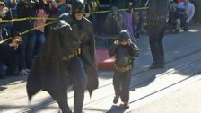 Batkid in action
