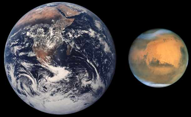 Earth is Colder Than Mars