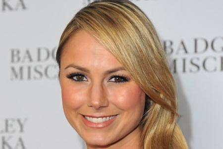 Stacy Keibler Posed Nude While Married and Pregnant