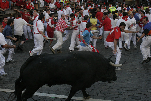 Pamplona Running of Bulls Has Remained Popular in Modern World