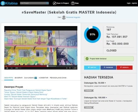 Proyek #SaveMaster KitaBisa (KitaBisa)