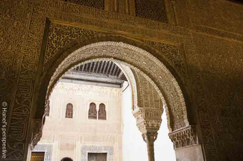 day time main palace alhambra spain
