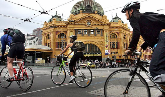 cycle melbourne australia
