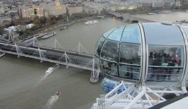 Top london eye