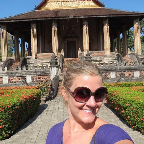 Royal temple Vientiane Laos