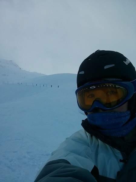 skiing Valmeinier France