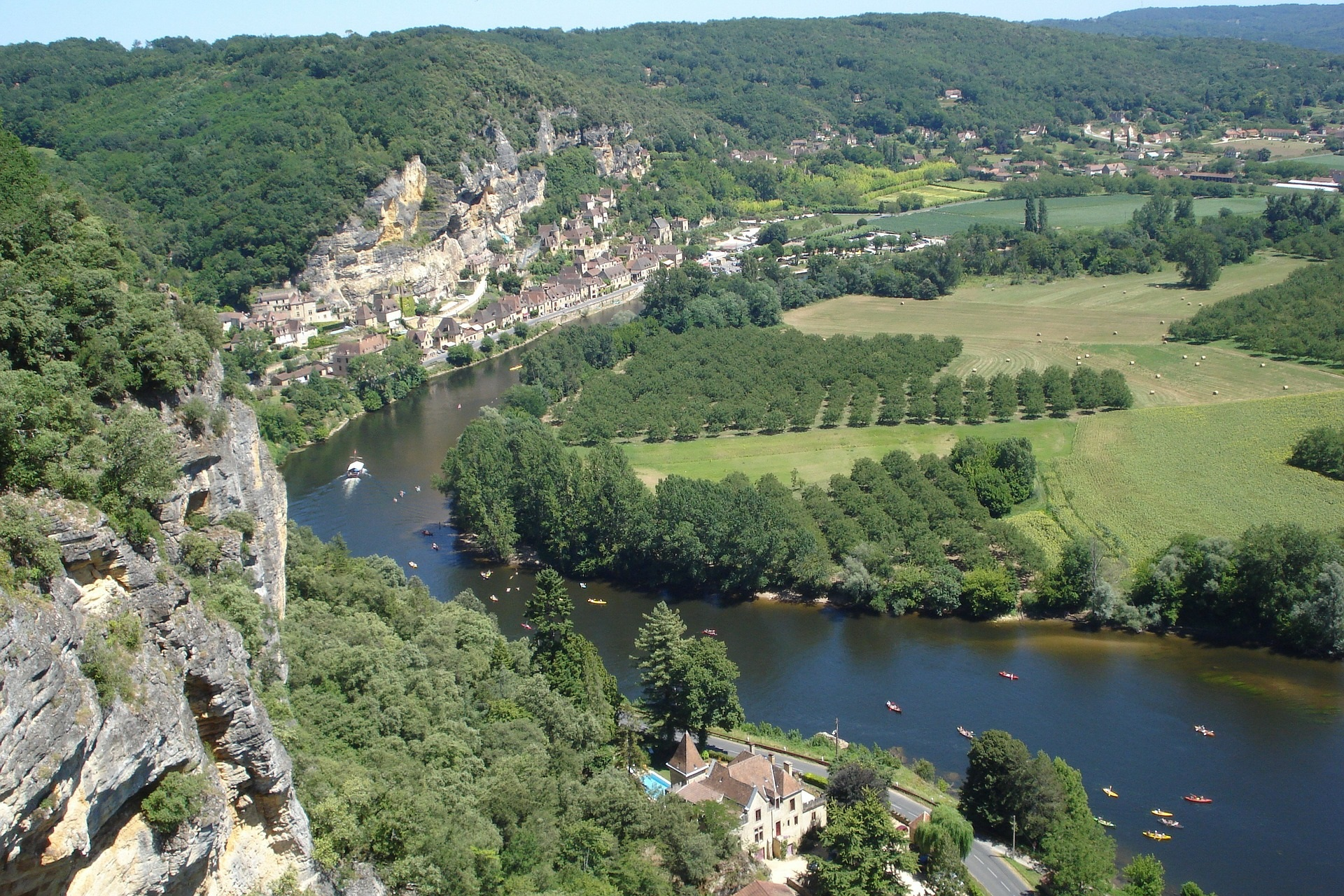 Dordogne River France