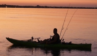 kayak fishing trips