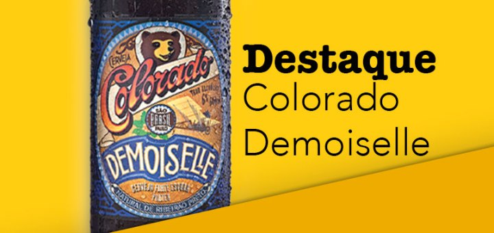 Cerveja com cafe Colorado Demoiselle