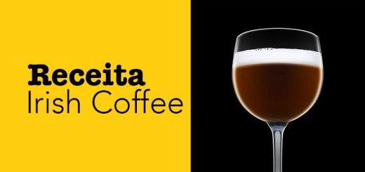 Receita de irish coffee