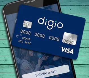 Digio: novo cartão digital sem anuidade