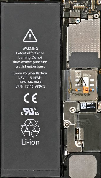 iPhone 5 Internals Wallpaper | iFixit