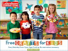 Free Crafts for Kids! @ Lakeshore Learning St. Louis Park | Saint Louis Park | Minnesota | United States