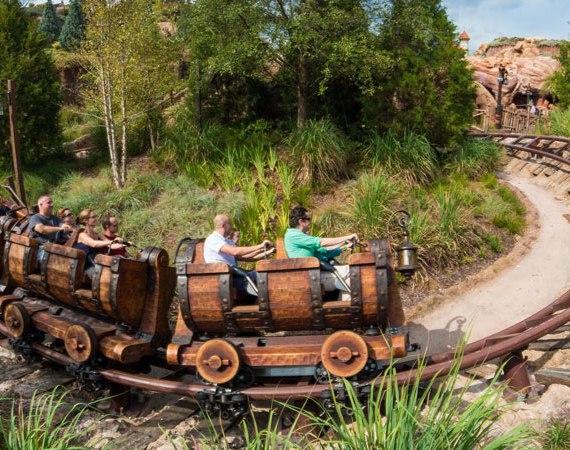 Seven Dwarfs Mine Train - Magic Kingdom Ride
