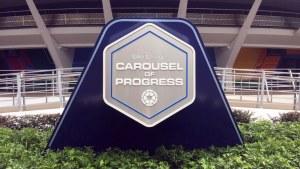 Carousel of Progress - New Sign