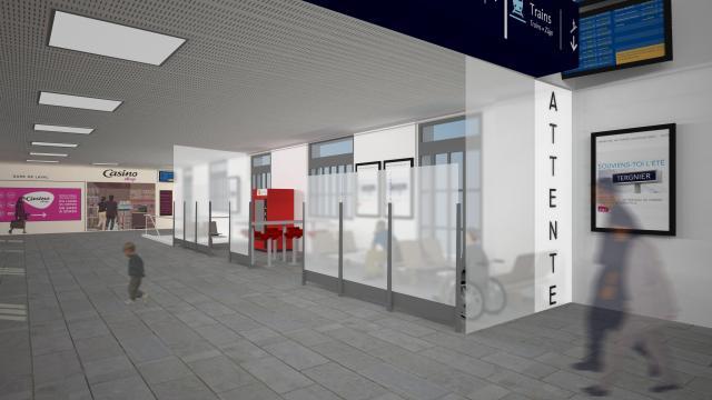 Gare de Laval