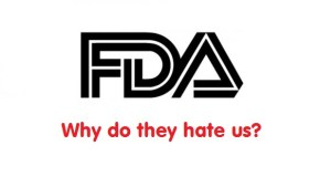 Why Does The FDA Hate Us? (ecig users, vapers)