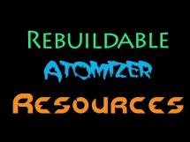 rebuildable atomizer resources