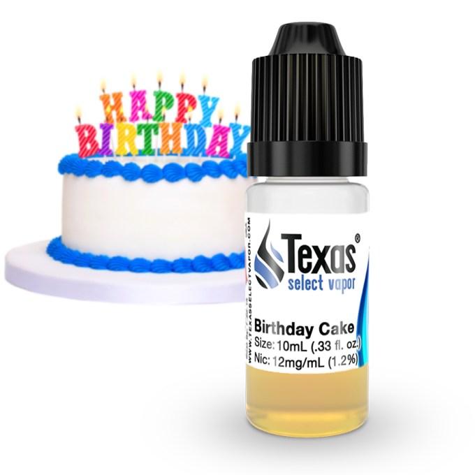 TexasSelectVapor Birthday Cake E-Liquid Review