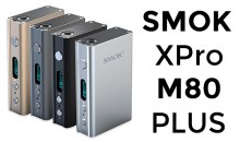 Smok XPro M80 Plus 4400mAh With Temperature Control – $49.99