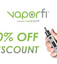 10% Off VaporFi Vox II Mod & Hardware