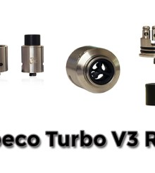 Tobeco Hits The Market With The Turbo V3 RDA