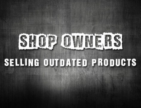 selling outdated products