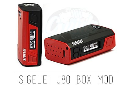 Sigelei J80 Box Mod Preview