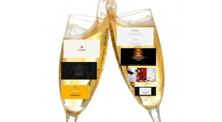 Luxe digital #1: champagne, luxemosphère, et sensorialité