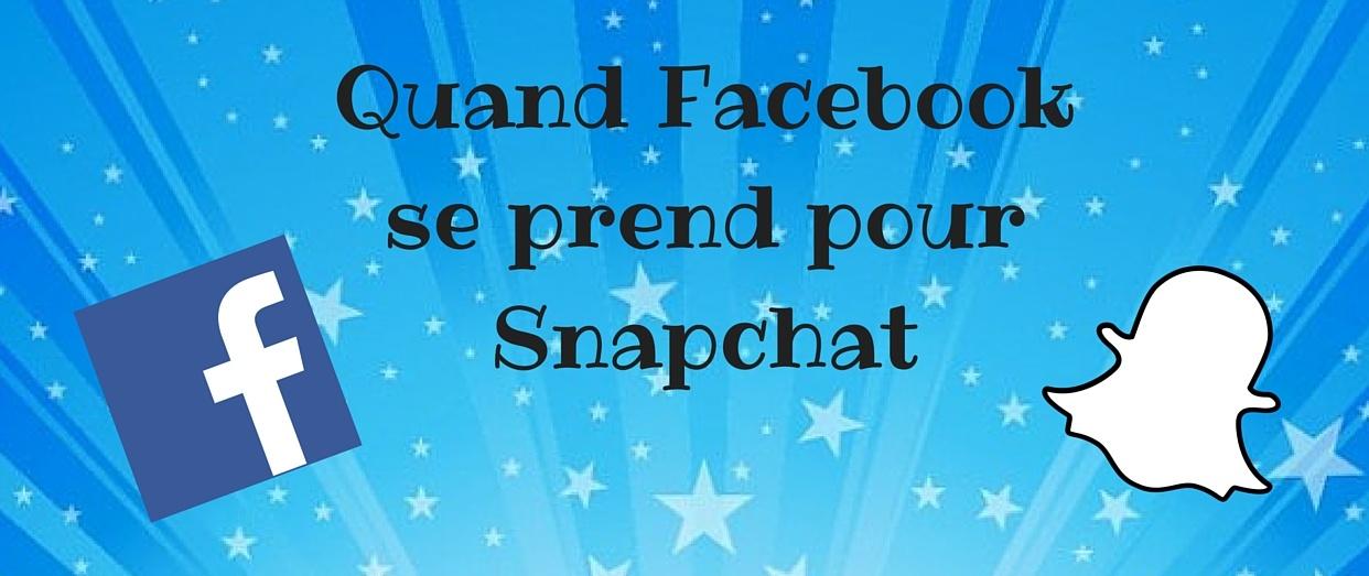 Facebook-snapchat