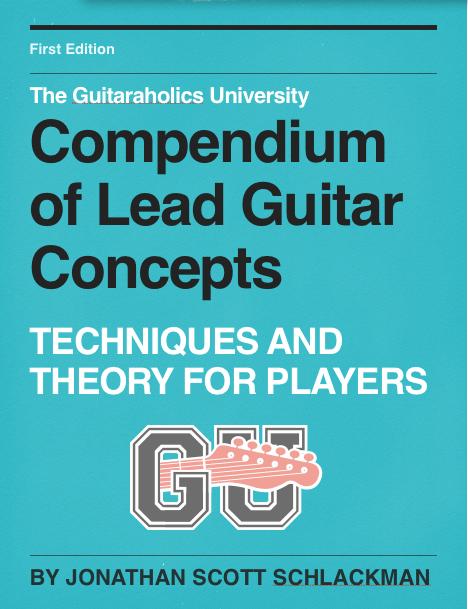 compendium of lead guitar concepts cover