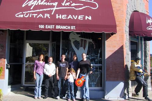 Hamer guru tour at Lighting Joe's