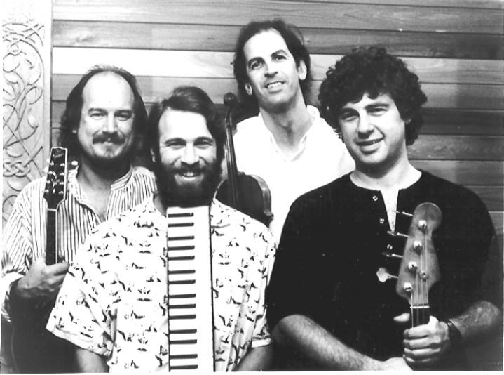 Rodney Miller Band - L to R: Paul Kotapish, Daniel Steinberg, Rodney Miller, David Cahn