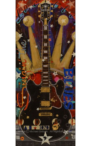 BB King Guitar Lucille Gibson ES 355