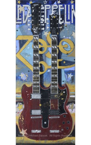 Jimmy Page Guitar Double Neck Gibson EDS 1275